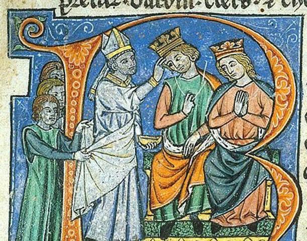 Death of Baldwin II and Coronation of Fulk and Melisende
