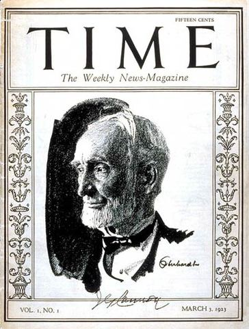 First TIME Magazine Launched
