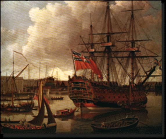 British Troops Occupy Boston