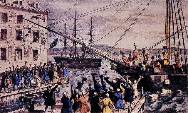 Governor Hutchinson's Actions Provoke BostonTea Party