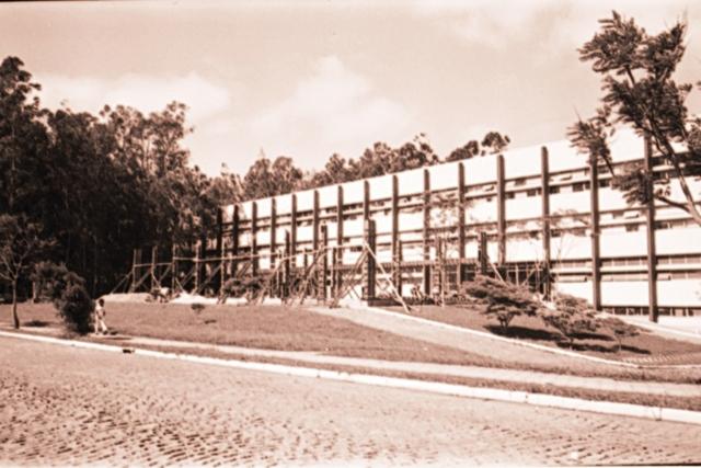 CAL Início das obras do Anfiteatro do Centro de Artes e Letras (CAL)