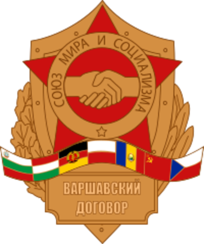 Warsawapakten opprettet