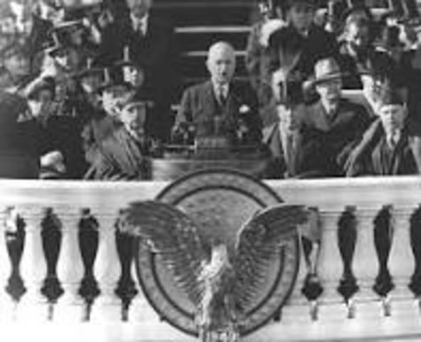 First Televised Presidential Inauguration