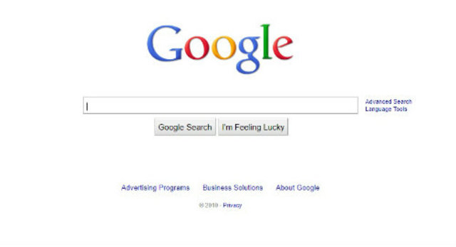 Nacimiento del buscador principal: Google