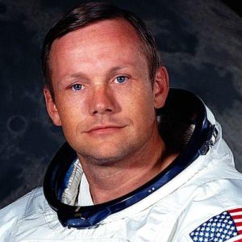 Neil Armstrong første menneske på månen