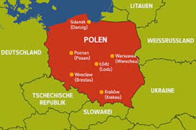 Polen første østeuropeiske land demokratisk