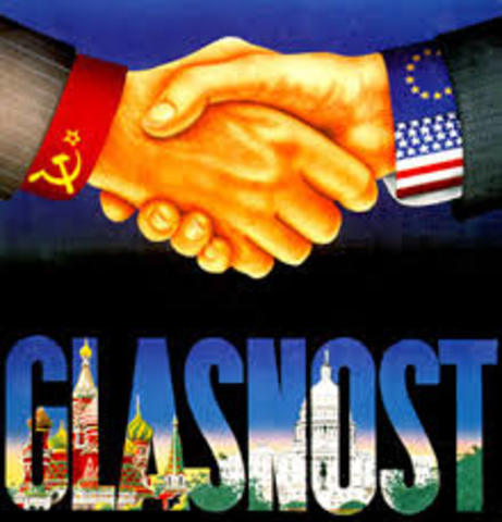 Glasnost og Perestrojka lansert