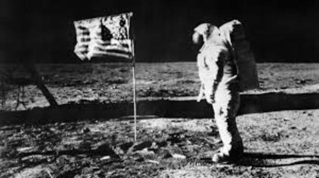 Armstrong første menneske på månen 20 juli 1969