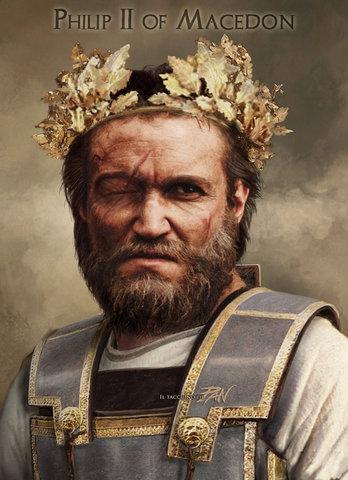 Filipo se convierte en el rey de Macedonia