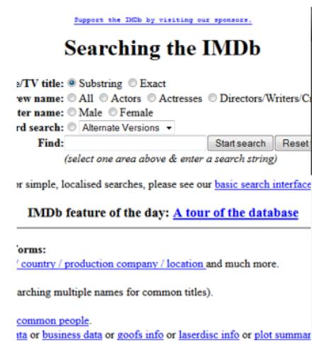 IMDb se constituye como empresa