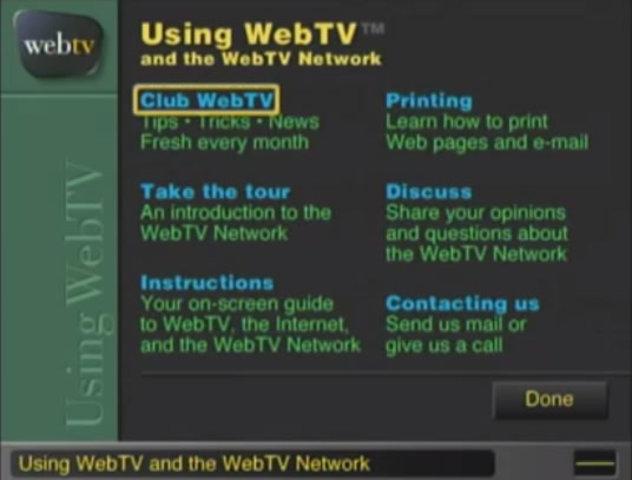 Microsoft compra WebTV