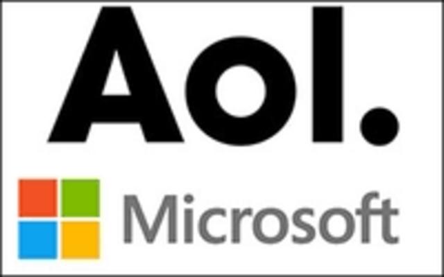 Acuerdo de Microsoft y AOL