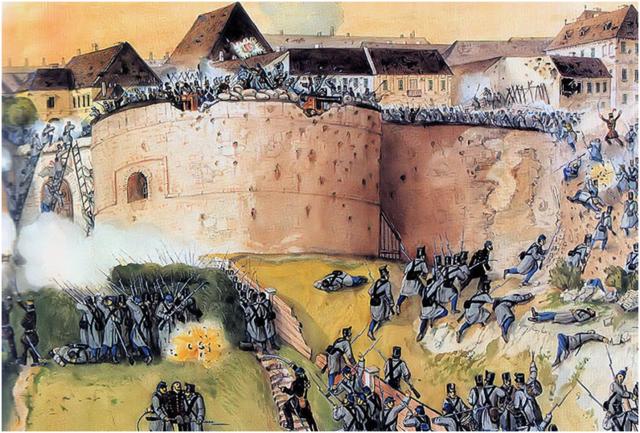 Den ungarske revolusjonen ble slått ned'