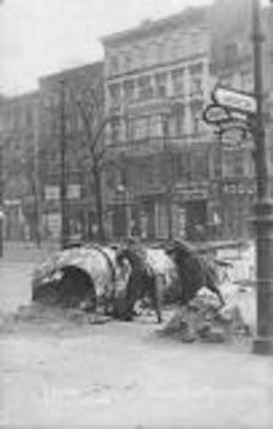 Spartakistopprøret i Berlin