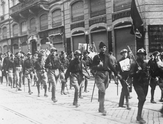 Mussolinis marsj mot Roma