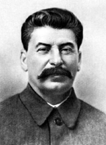 Stalin seirer i maktkampen mot Trotskji