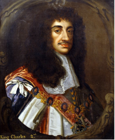 Charles II becomes King