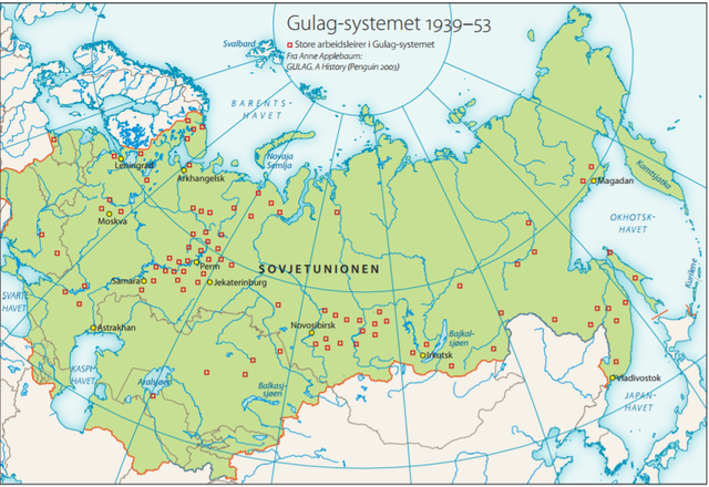 GULag i Sovjetunionen
