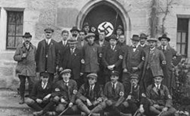 NSDAP største parti i Tyskland
