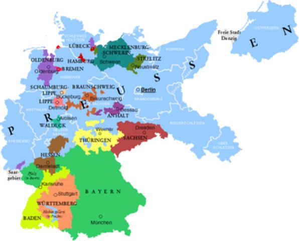 Weimarrepublikk i Tyskland