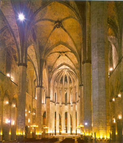 Iglesia de Santa María del Mar de Barcelona