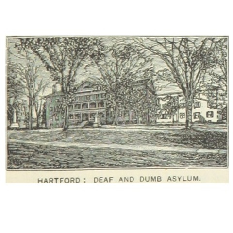 The Connecticut Asylum for the Education and Instruction of Deaf and Dumb Persons Opened