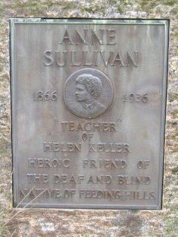 Annie Sullivan Dies