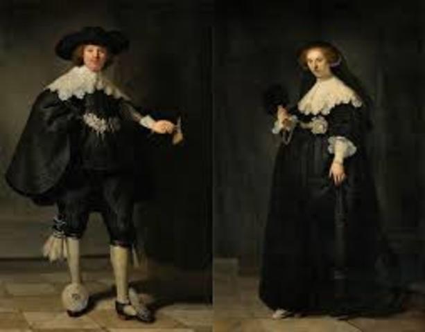 Rembrandt: Maarten en Oopjen