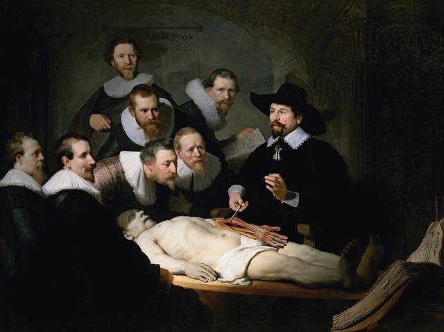 Rembrandt: Anatomische les van Dr. Nicolaes Tulp