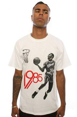 was one of the most monumental years in the history of the NBA. Why?  The greatest player ever joined the league, surprisingly at the 3rd pick in the NBA draft.  This shirt was made to commemorate that year.