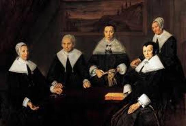 Frans Hals: regentessen van het oudemannenhuis