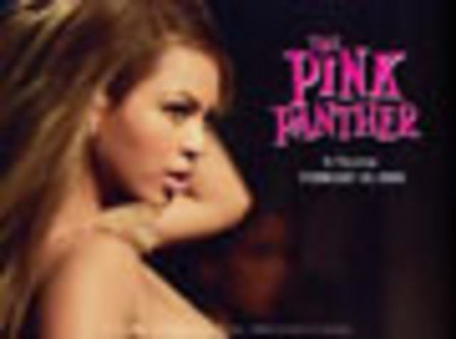 Stared in her 3rd movie The Pink Panther
