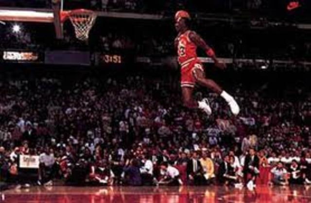 """Michael Jordan 1988: 47pts vs. Utah Jazz, """"Mel Turpin Dunk"""" Game"""