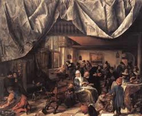 Jan Steen, Het leven van de mens