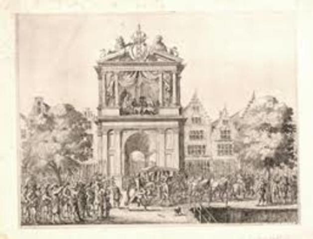 Maria de' Medici bezoekt Amsterdam