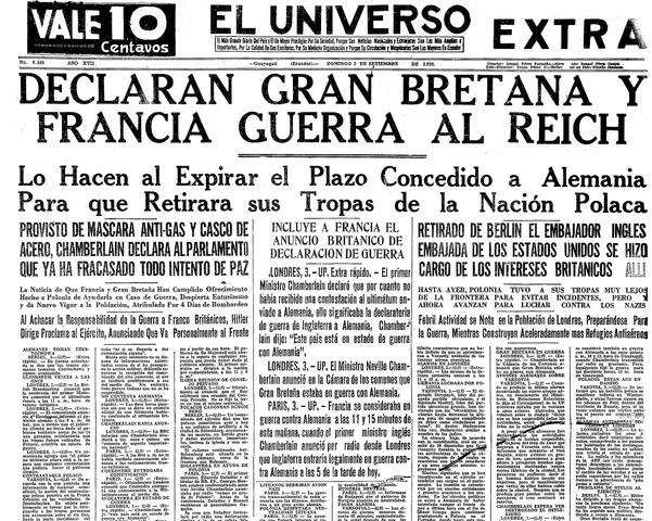 Le 1r septembre 1939