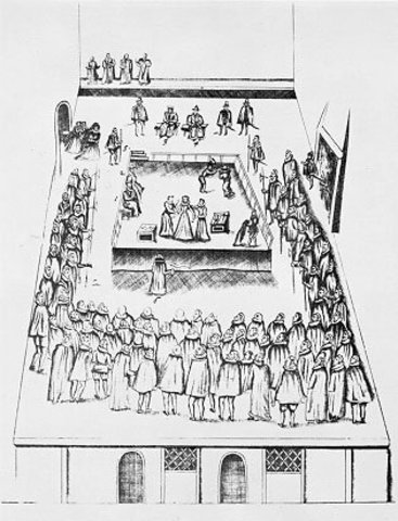 Mary Queen of Scots Executed