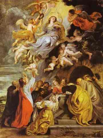 Lascensión de la Virgen