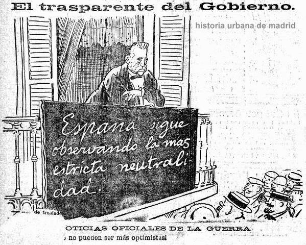 Neutralidad española en la Primera Guerra Mundial