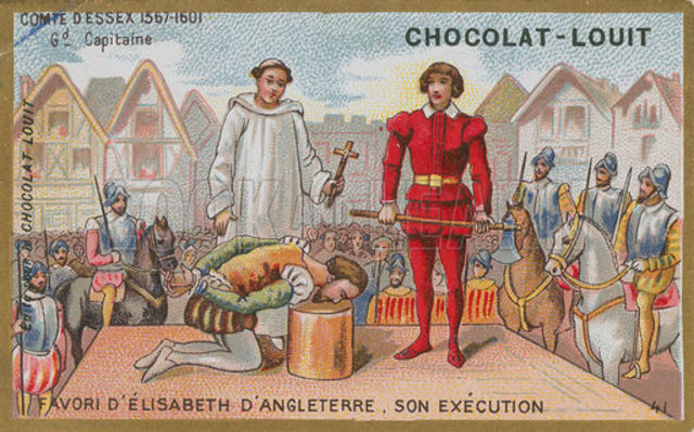 Earl Of Essex Executed