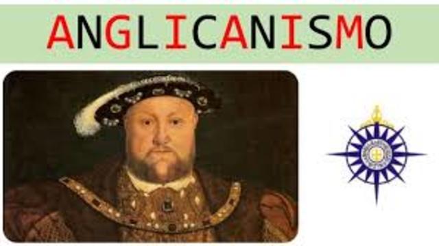 Enrique VIII se materealiza la separación de Inglaterra de la iglesia católico.1534
