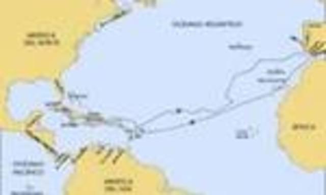 segundo viaje de Colón a América 1493