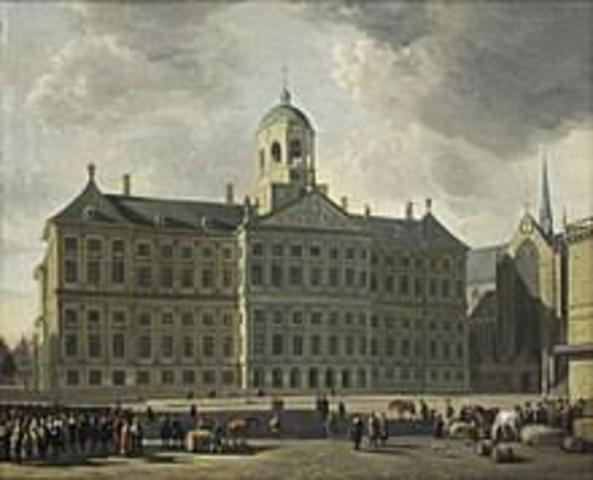 opening stadhuis Amsterdam