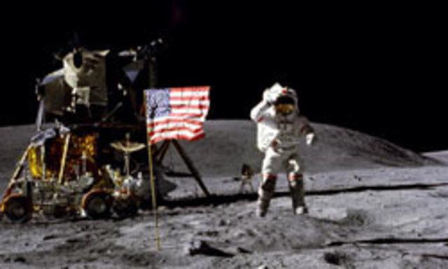 Broadcast of Moon Landing