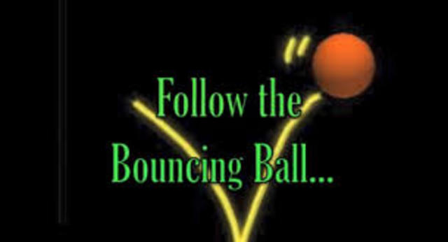 Birth of the Bouncing Ball