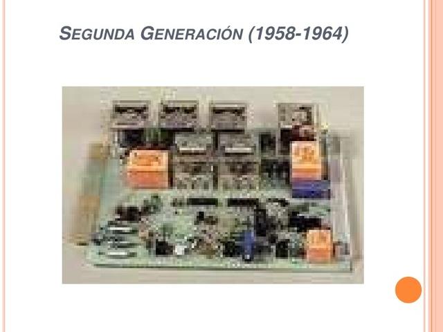 Segunda generacion de computacion.