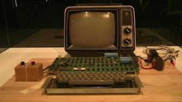 Primera Microcomputadora, Apple I- Seteve Jobs y Steve Wozniak