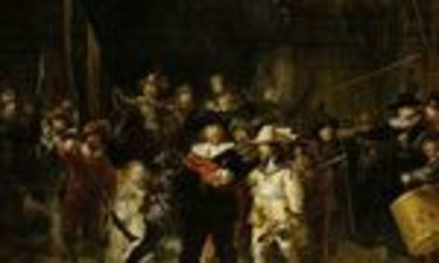 Rembrandt pinta la ronda del norte 1642