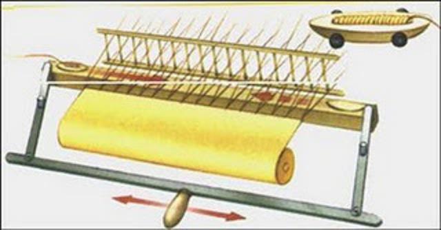 Invención de la lanzadera volante de John Kay