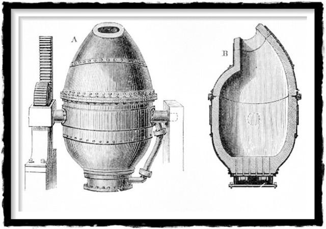 Convertidor de acero de Bessemer